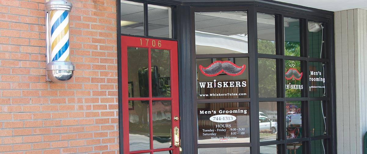 Whiskers Men's Grooming | Utica Square